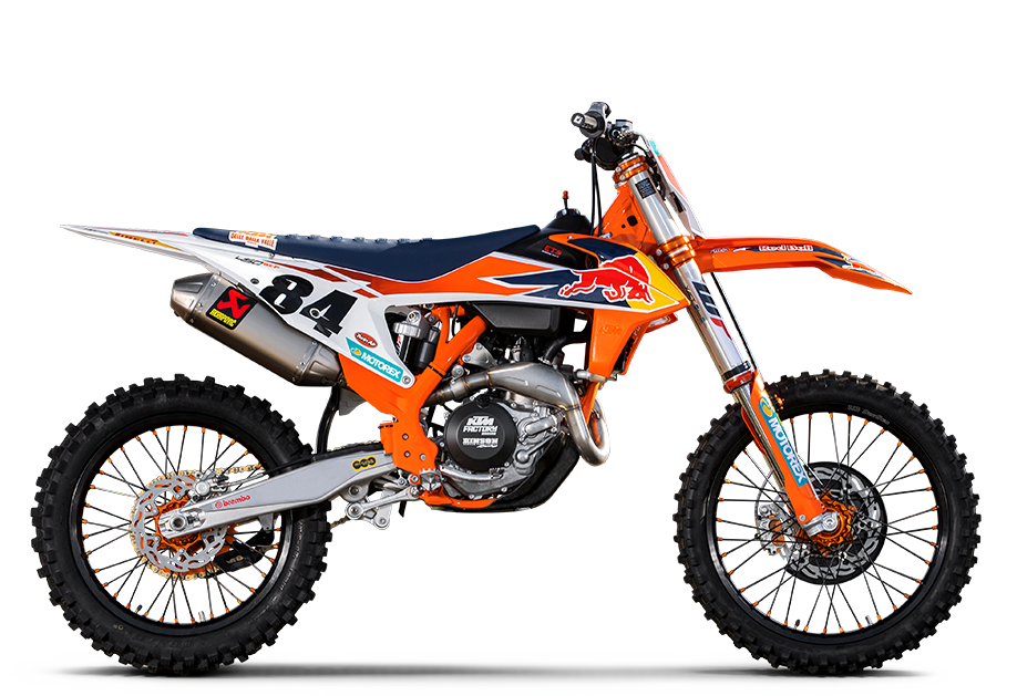 KTM BALI 450 SX-F HERLINGS REPLICA 2019
